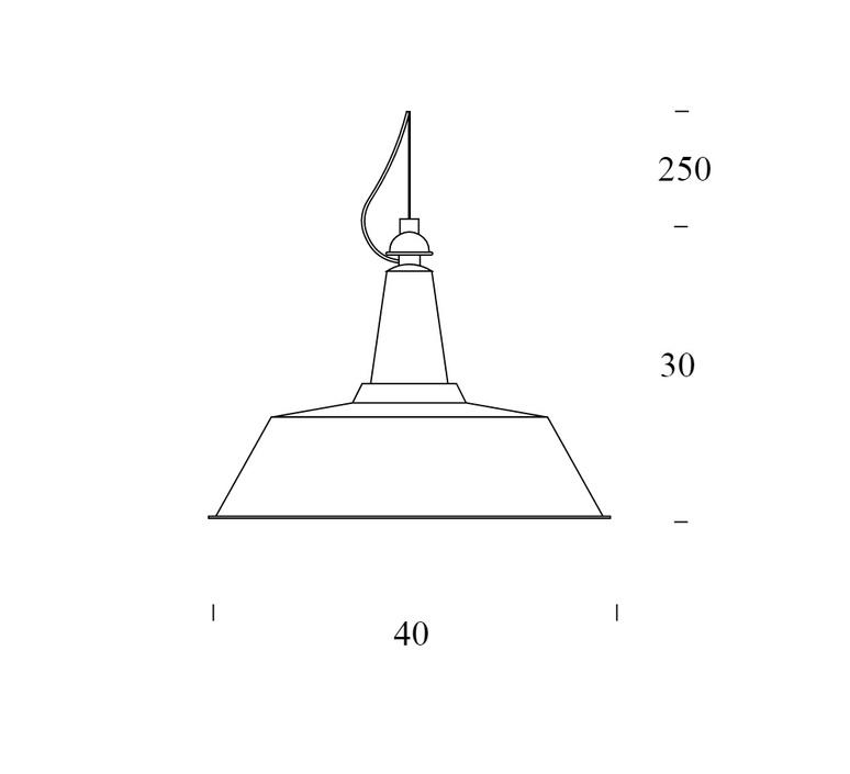 Cloche ufficio tecnico fontanaarte 4260gs luminaire lighting design signed 20449 product