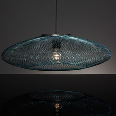 Iridescent black large  suspension pendant light  atelier robotiq iridescentblack large  design signed 43034 thumb