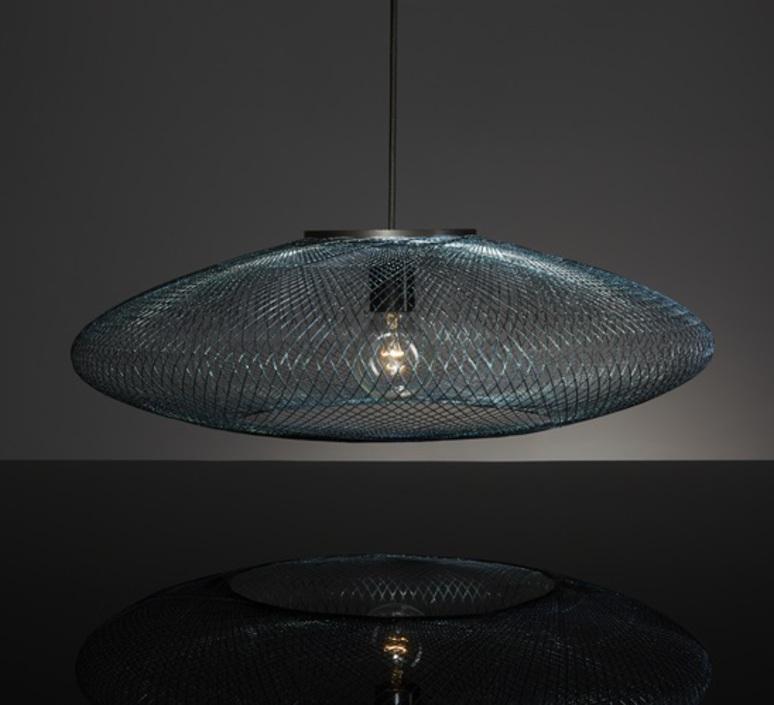 Iridescent black medium  suspension pendant light  atelier robotiq iridescentblack medium  design signed 43023 product