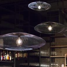 Iridescent black medium  suspension pendant light  atelier robotiq iridescentblack medium  design signed 43029 thumb