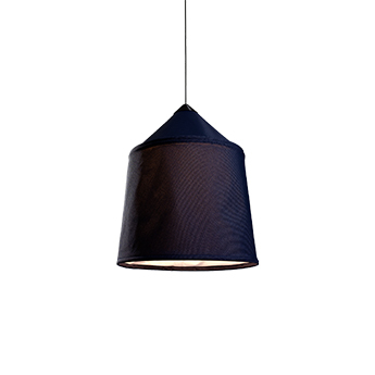 Suspension jaima 54 ip65 bleu ip65 led 2700k 514lm o54cm h63cm marset normal