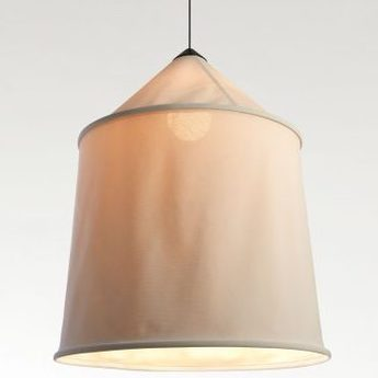 Suspension jaima beige led h71cm h82cm marset normal