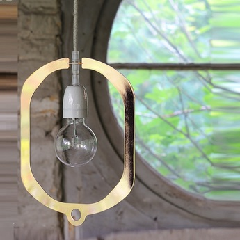 Suspension jewel 35 led or h35cm l25cm hind rabii normal