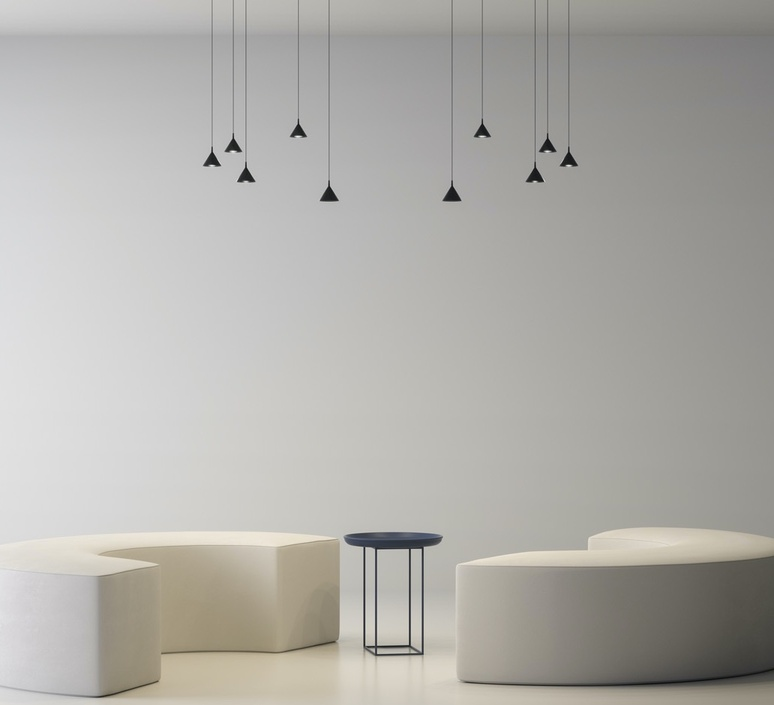 Jewel mono yonoh estudio creativo suspension pendant light  axolight spjm0111neneled  design signed nedgis 113087 product