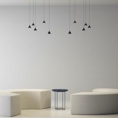 Jewel mono yonoh estudio creativo suspension pendant light  axolight spjm0111neneled  design signed nedgis 113087 thumb