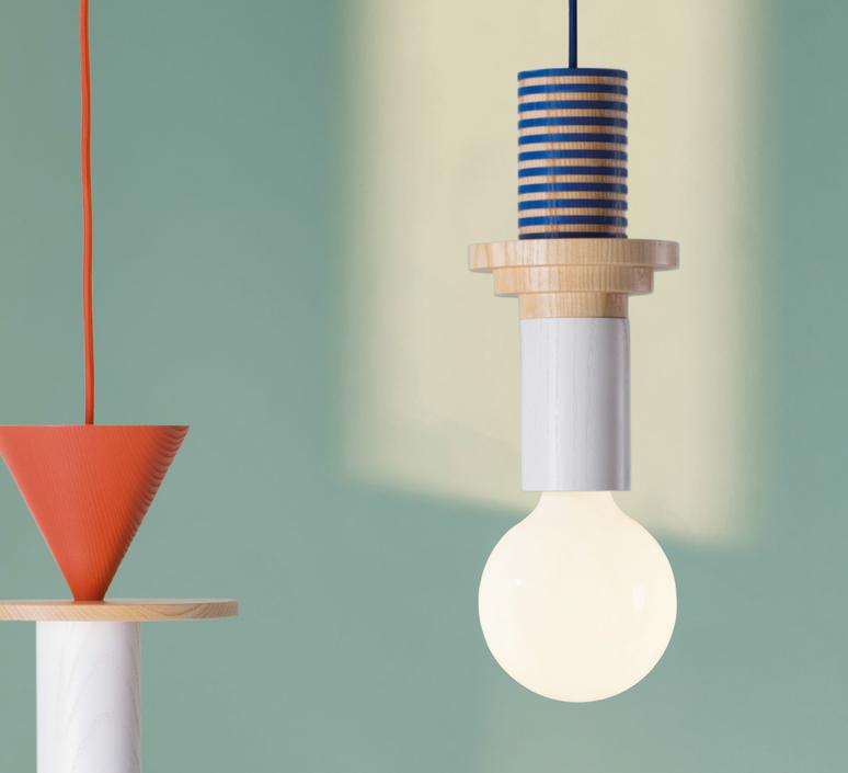 Junit column julia mulling et niklas jessen schneid column blue luminaire lighting design signed 24962 product
