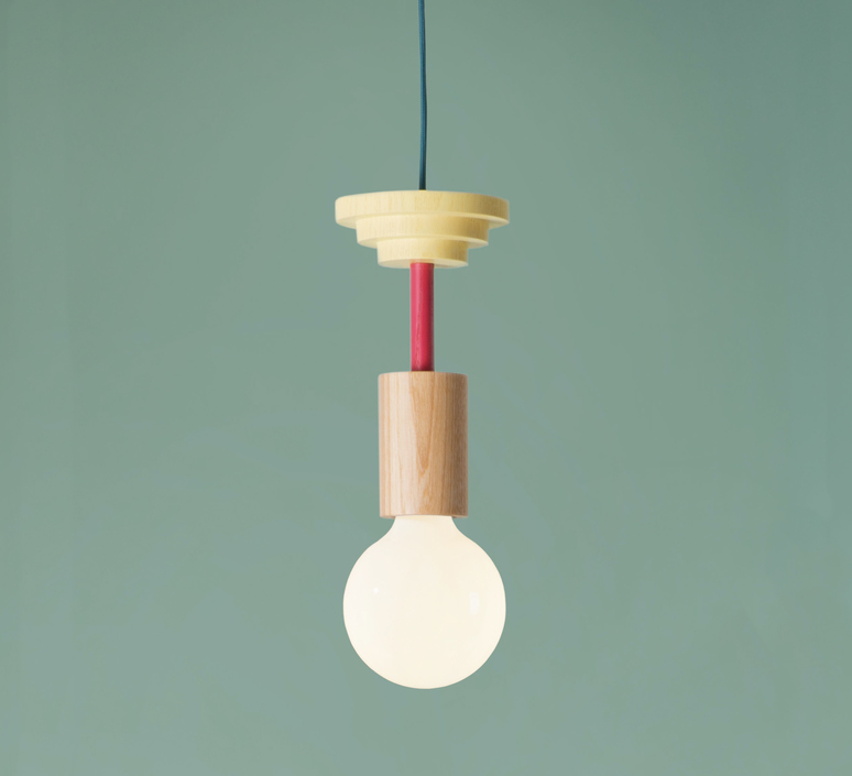 Junit mentis julia mulling et niklas jessen schneid mentis natural wood fuchsia luminaire lighting design signed 24952 product