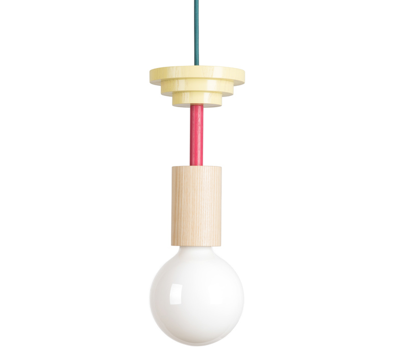 Junit mentis julia mulling et niklas jessen schneid mentis natural wood fuchsia luminaire lighting design signed 24953 product
