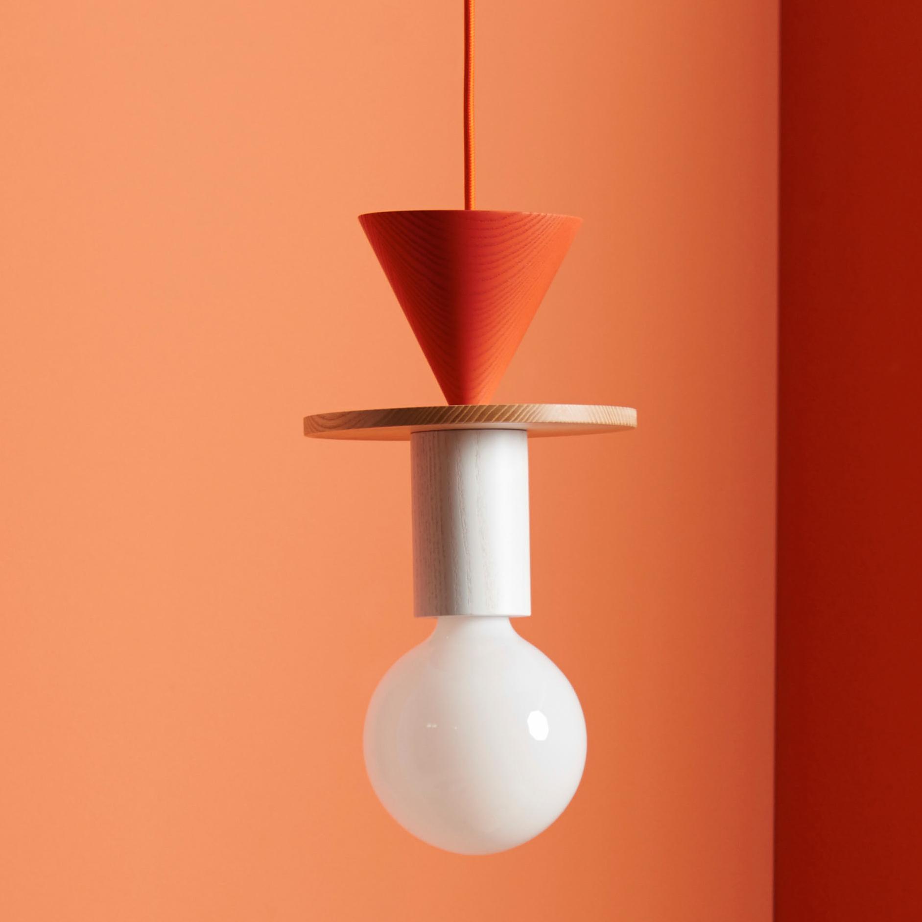 suspension junit record fr ne rouge h25cm schneid luminaires nedgis. Black Bedroom Furniture Sets. Home Design Ideas