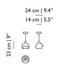 Bell s  suspension pendant light  moooi molbes s xia  design signed nedgis 72095 thumb