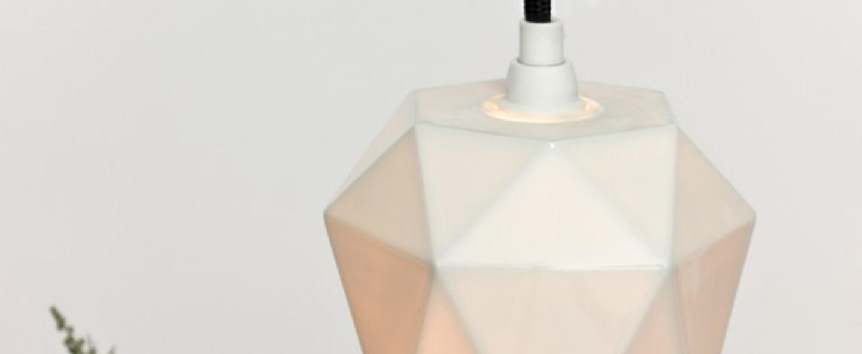 Suspension k1 blanc o12cm h12cm gantlights normal