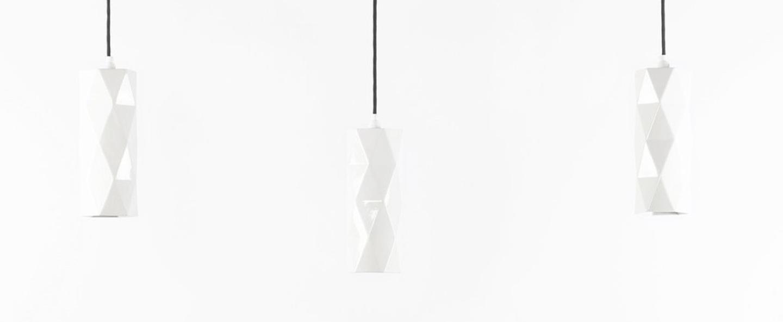 Suspension k2 blanc o10cm h26cm gantlights normal