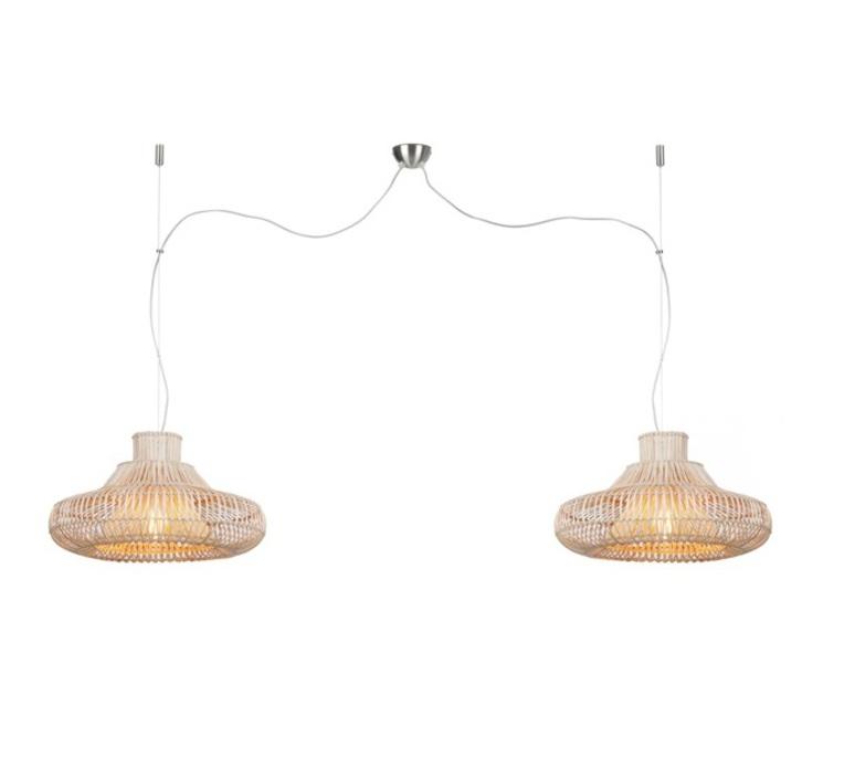 Kalahari wicker double natural s studio it s about romy suspension pendant light  its about romy kalahari 45 h2 n  design signed nedgis 64300 product