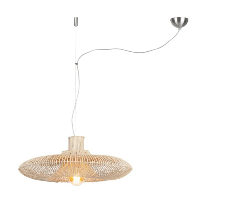 Kalahari wicker single natural l studio it s about romy suspension pendant light  its about romy kalahari 70 h1 n  design signed nedgis 64296 product
