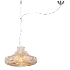 Kalahari wicker single natural s studio it s about romy suspension pendant light  its about romy kalahari 45 h1 n  design signed nedgis 64288 thumb