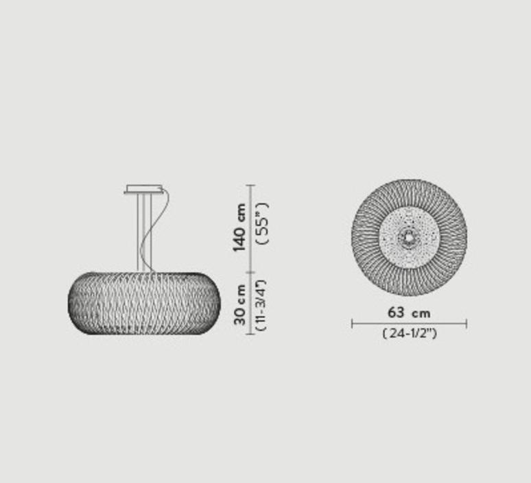 Kalatos studio slamp suspension pendant light  slamp klt86sos0000le000  design signed nedgis 78347 product