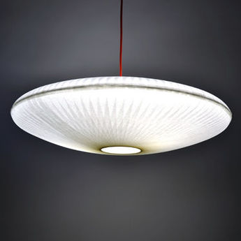 Suspension kaleidoscope blanc o85cm celine wright normal