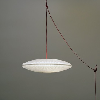 Suspension kaleidoscope branchement sol blanc o85cm celine wright normal