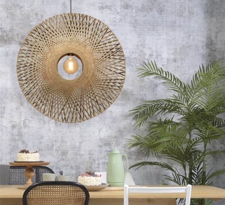 Kalimantan l good mojo studio suspension pendant light  it s about romi kalimantan h 8720 bn  design signed nedgis 113136 product