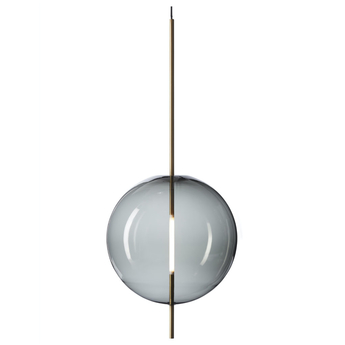 Suspension kandinsky gris o45cm h108cm pholc normal