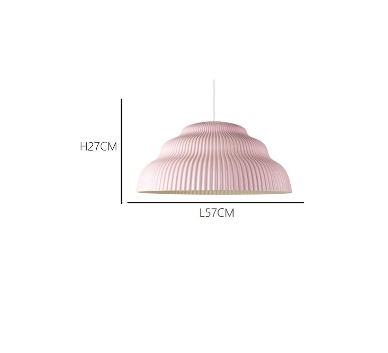 Kaskad lighting big julia mulling et niklas jessen suspension pendant light  schneid  kaskadbigblush  design signed 32441 product