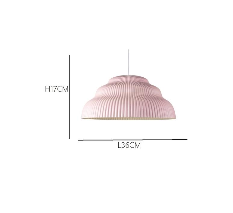 Kaskad lighting small  julia mulling et niklas jessen suspension pendant light  schneid  kaskadsmallblush  design signed 32437 product