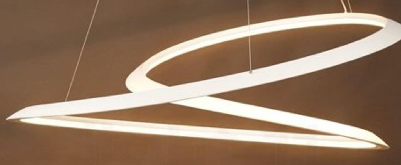 Suspension kepler directe blanc led 2700k 4500lm o110cm h38cm nemo lighting normal