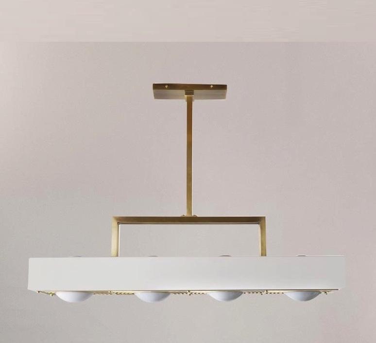 Kernel  suspension pendant light  bert frank kernel pendant lamp white  design signed 124774 product