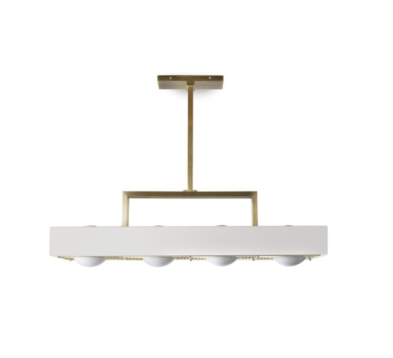 Kernel  suspension pendant light  bert frank kernel pendant lamp white  design signed 35990 product
