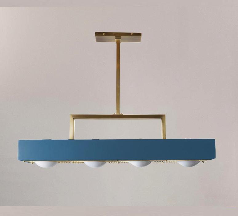 Kernel  suspension pendant light  bert frank kernel pendant lamp blue  design signed 124768 product