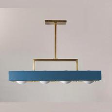 Kernel  suspension pendant light  bert frank kernel pendant lamp blue  design signed 124768 thumb