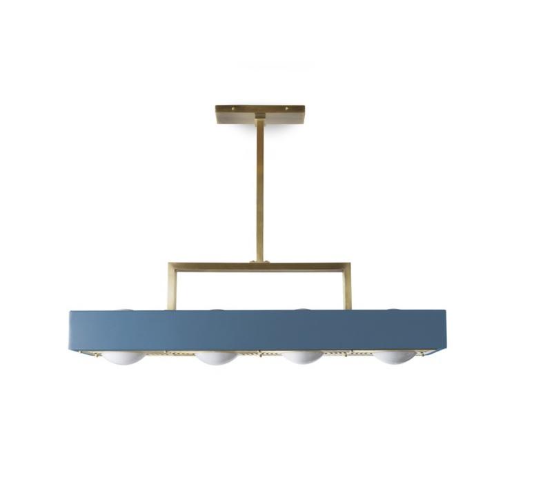 Kernel  suspension pendant light  bert frank kernel pendant lamp blue  design signed 35992 product