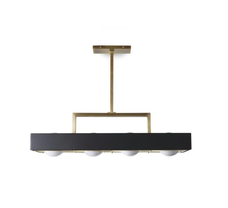 Kernel  suspension pendant light  bert frank kernel pendant lamp black  design signed 35988 product