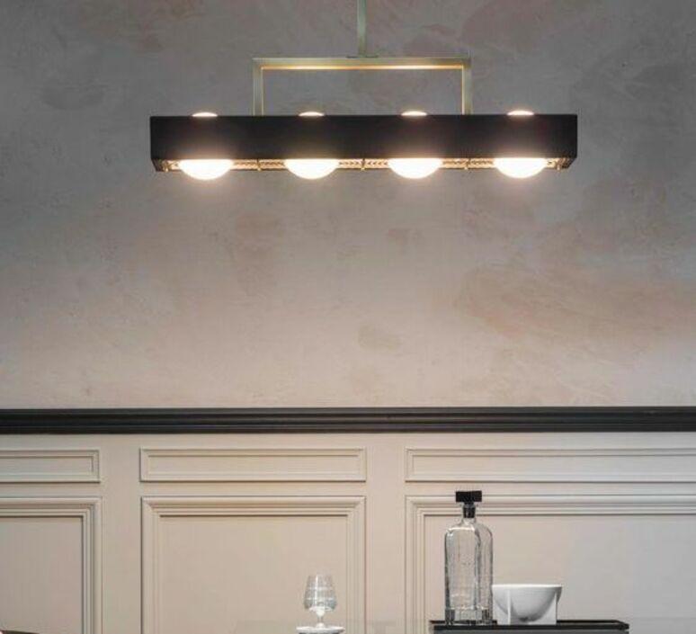 Kernel  suspension pendant light  bert frank kernel pendant lamp black  design signed 94407 product