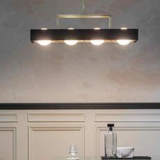 Kernel  suspension pendant light  bert frank kernel pendant lamp black  design signed 94407 thumb