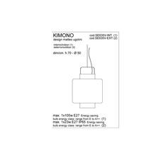 Kimono matteo ugolini karman se635v ext luminaire lighting design signed 19998 thumb