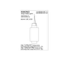 Kimono matteo ugolini karman se636v ext luminaire lighting design signed 20002 thumb