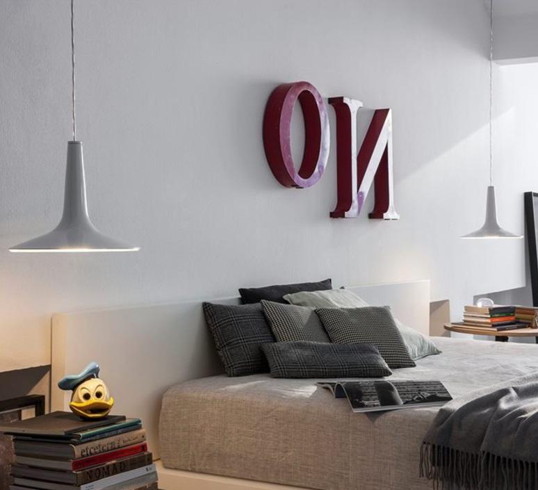 Kin francesco rota oluce 479 blanc luminaire lighting design signed 22599 product
