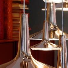 Kin francesco rota oluce 478 cuivre luminaire lighting design signed 22593 thumb