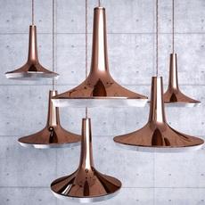 Kin francesco rota oluce 478 cuivre luminaire lighting design signed 22594 thumb
