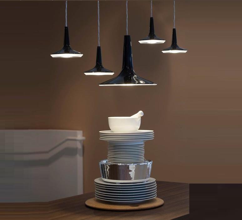 Kin francesco rota oluce 478 noir luminaire lighting design signed 22587 product