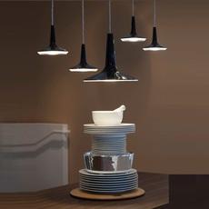 Kin francesco rota oluce 478 noir luminaire lighting design signed 22587 thumb
