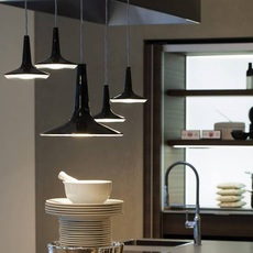 Kin francesco rota oluce 478 noir luminaire lighting design signed 22588 thumb