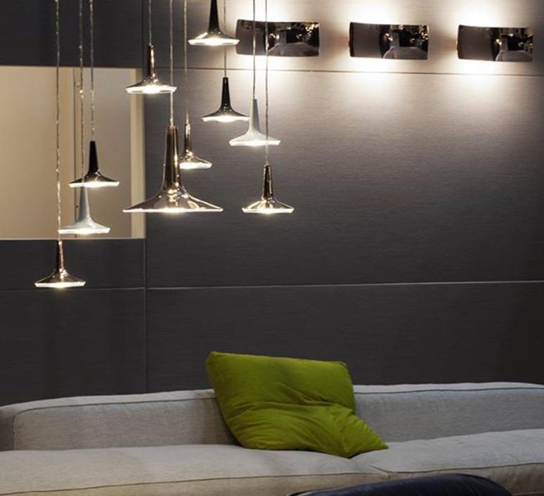 Kin francesco rota oluce 478 noir luminaire lighting design signed 22589 product