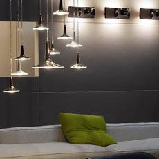 Kin francesco rota oluce 478 noir luminaire lighting design signed 22589 thumb