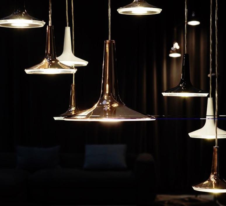 Kin francesco rota oluce 478 noir luminaire lighting design signed 22590 product