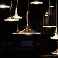 Kin francesco rota oluce 478 noir luminaire lighting design signed 22590 thumb