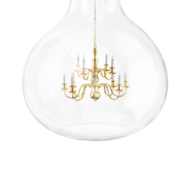 King eddison xii brendan young vanessa battaglia mineheart king edison xii gold luminaire lighting design signed 16396 product