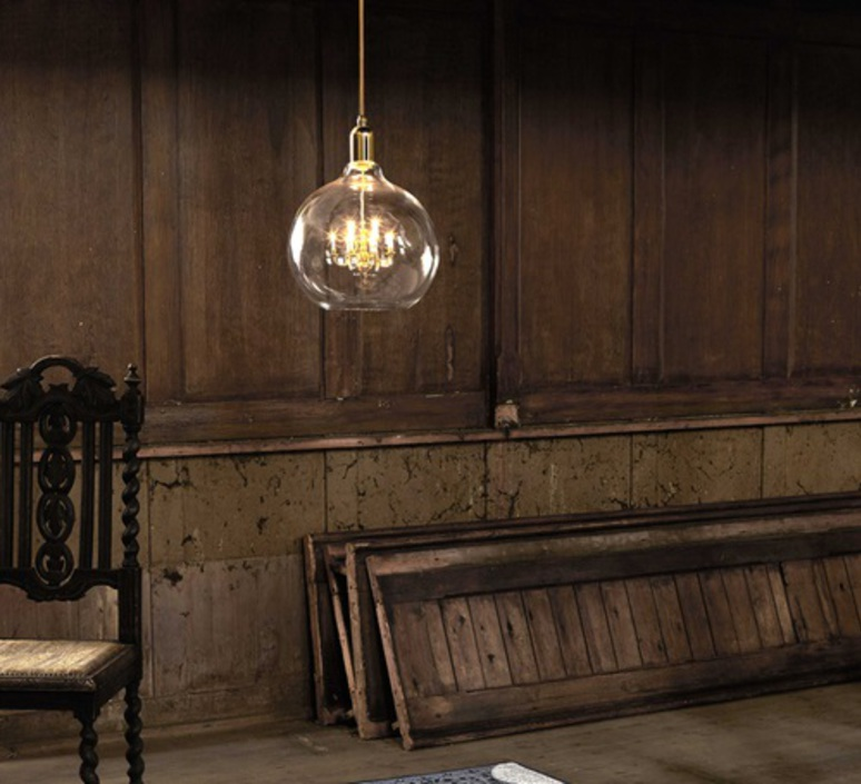King eddison xii brendan young vanessa battaglia mineheart king edison xii gold luminaire lighting design signed & Pendant light KING EDDISON GRANDE gold Ø32cm H28cm - Mineheart ...