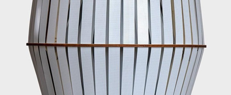 Suspension kiwi large blanc o56cm h60cm ay illuminate normal